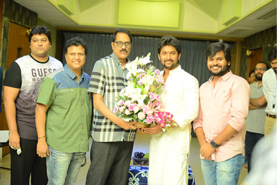Nagarjuna and Nani Multister Movie Songs Recording Stared